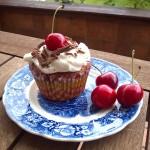 Schwarzwaelderkirsch Cup Cakes