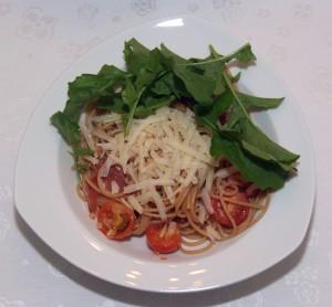 Spaghetti_Rucola
