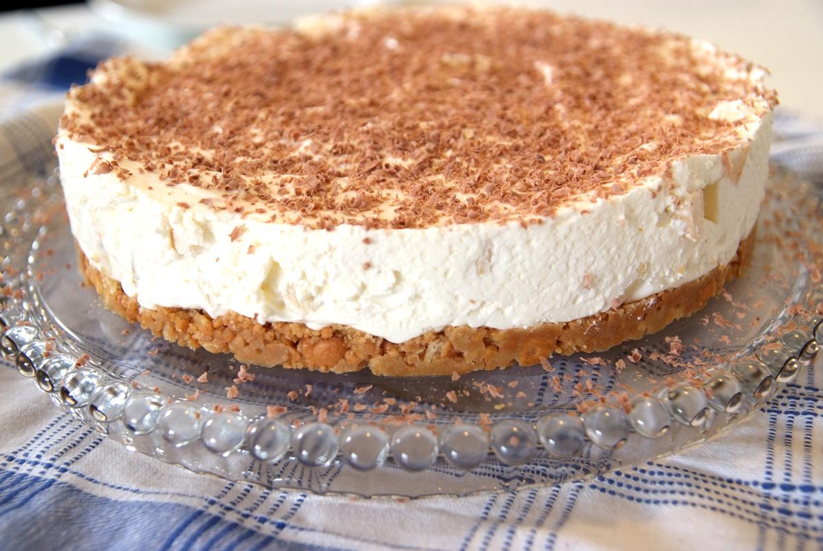 Apfel mascarpone sahne torte